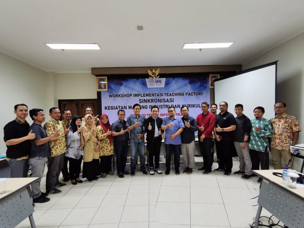 Workshop Implementasi Teaching Factory Sinkronisasi Kegiatan Magang Industri dan Kurikulum